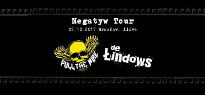 Pull The Wire i De Łindows - Wrocław, Alive