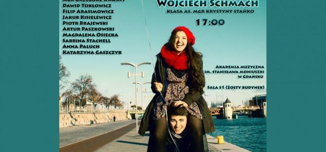 Recitale dyplomowe studentów wokalistyki jazzowej Amal Anani i Wojciech Schmacha