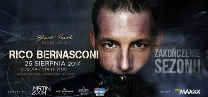 Rico Bernasconi - Zakończenie Sezonu - 26.08 (sobota)