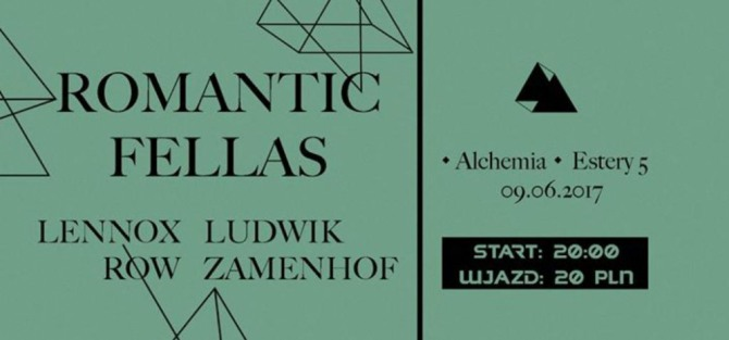 Romantic Fellas // Lennox Row // Ludwik Zamenhof