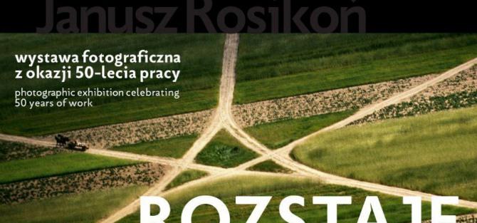Rozstaje – wernisaż wystawy Janusza Rosikonia