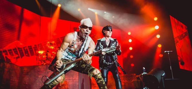 Scorpions, czyli huragan z Niemiec nadciągnie nad Polskę - koncert