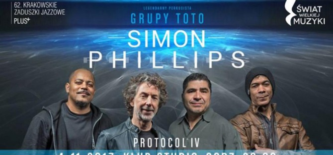 Simon Phillips with Protocol IV