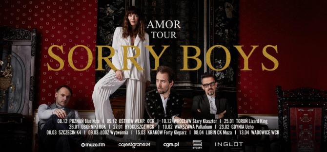 Sorry Boys / Amor Tour - koncert