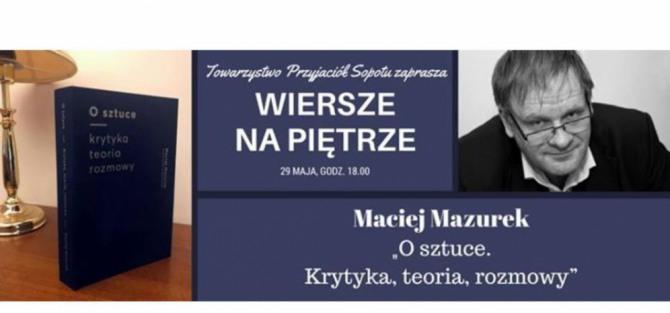 Spotkanie autorskie z Maciejem Mazurkiem
