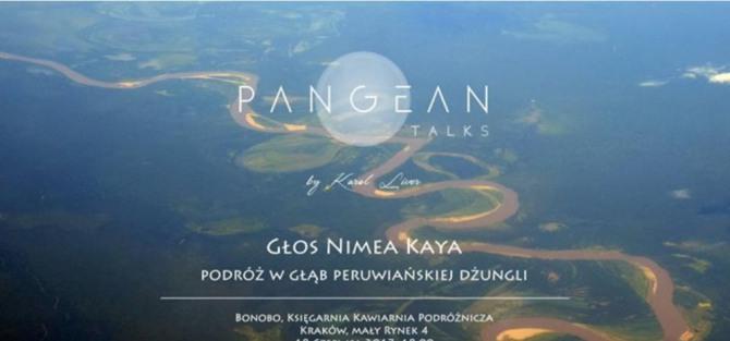 """Spotkanie """"Głos Nimea Kaya. Podróż w głąb peruwiańskiej dżungli"""""""