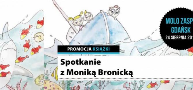 Spotkanie na plaży z Moniką Bronicką