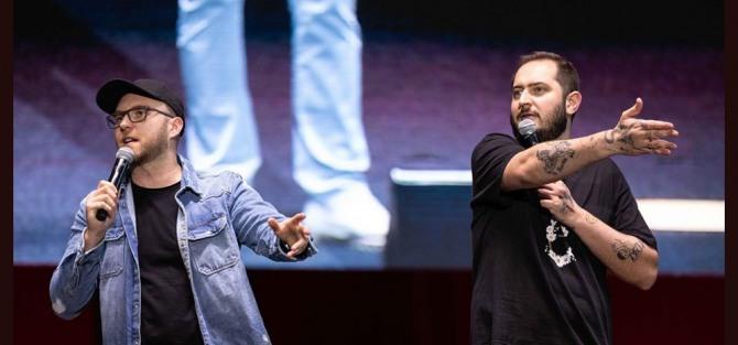 Stand-up w Centrali: Darek Gadowski i Jacek Stramik