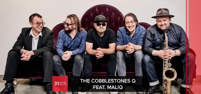 The Cobblestones Q feat. Maliq - koncert