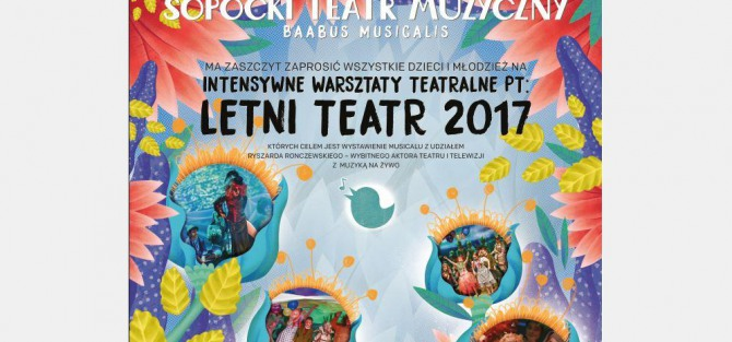 Warsztaty teatralne pt. Letni Teatr 2017