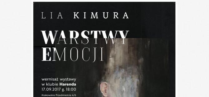 """Wernisaż """"Warstwy Emocji"""" - Lia Kimura w klubie Harenda"""