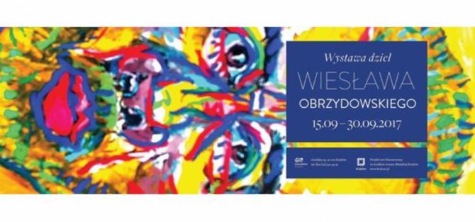 Wernisaż wystawy dzieł Wiesława Obrzydowskiego