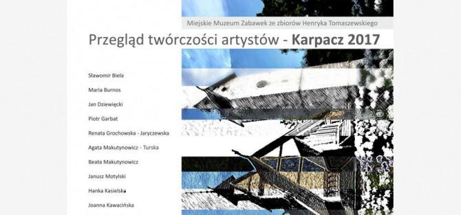 Wernisaż wystawy Przegląd twórczości artystów - Karpacz 2017