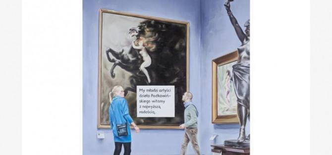 """Wernisaż wystawy """"Sztuka w sztuce"""""""