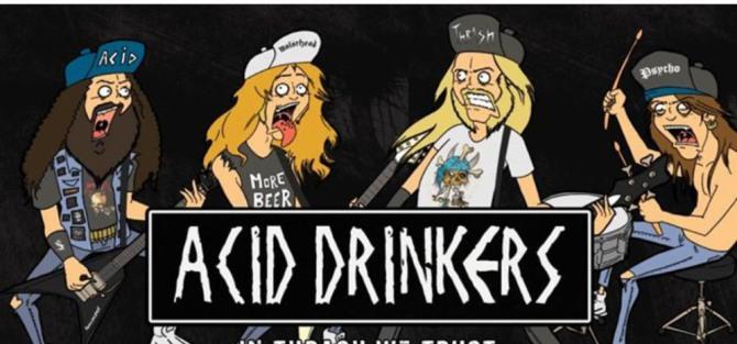 """wROCKfest.pl prezentuje: Acid Drinkers / Wrocław """"In Thrash We Trust"""" - koncert"""