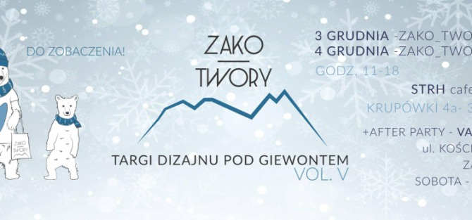 Zako_Twory vol. V Christmas Edition - Zako_Twory - Targi Dizajnu