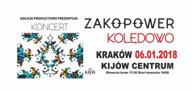 Zakopower Kolędowo- koncert