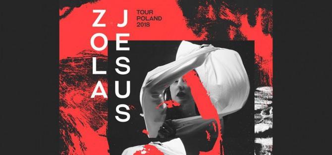 Zola Jesus Tour Poland 2018 - koncert