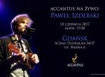 Accantus na żywo: Paweł Izdebski