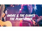 Andre & The Giants + The Plantators- koncert