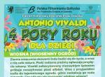 """Koncert Edukacyjny """"Antonio Vivaldi - 4 pory roku dla dzieci"""" Wiosna"""