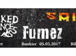Koncert Fumez, Naked Princess, Sain
