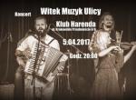 Koncert Witek Muzyk ulicy w Harendzie