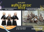 Trio Mandili & Laboratorium Pieśni in Gdańsk - World Music Nocą - koncert