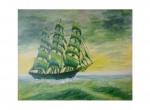 """Wernisaż Wystawy Malarstwa """"Morze, Statki, żagle"""" Gabriela Oleszka"""
