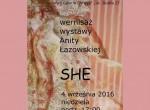 """Wernisaż wystawy """"SHE"""""""