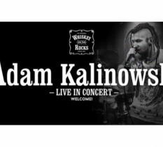 Adam Kalinowski w Whiskey On The Rocks - koncert