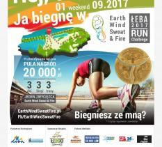 """Festiwal Biegowy """"Earth Wind Sweat & Fire Łeba 2017"""""""