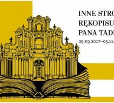 """Inne strony rękopisu """"Pana Tadeusza"""" – wernisaż wystawy"""