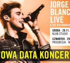 Jorge Blanco Live & The 8th Wonder - koncert