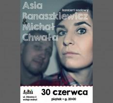 Koncert: Asia Banaszkiewicz i Michał Chwała - koncert