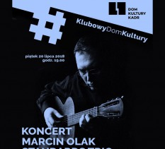 Marcin Olak Standards Trio - koncert