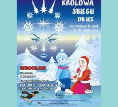 Moskiewska rewia na lodzie w widowisku KRÓLOWA ŚNIEGU