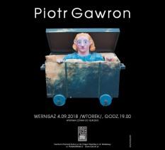Otwarcie wystawy twórczości Piotra Gawrona