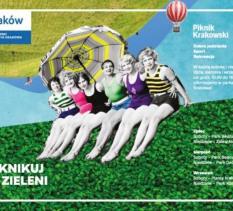 Piknik Krakowski: Piknikuj w zieleni