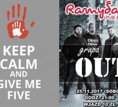 Przybij piątkę Grupa Out koncert 5 urodziny Ramydada