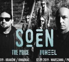 Soen + The Price + Wheel - koncert