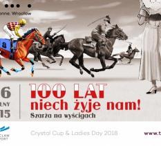 Szarża ułańska, Crystal Cup i Ladies Day – 100 lat niepodległości na Torze Wyścigów Konnych Partynice 10 czerwca.