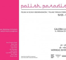 """Wernisaż wystawy """"Polish Paradise"""""""
