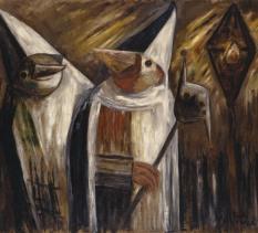 """Wernisaż Wystawy """"Żywioły i maski. Wśród obrazów z kolekcji Grażyny i Jacka Łozowskich"""""""