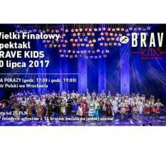 Wielki Finałowy Spektakl Brave Kids
