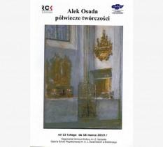 "Wystawa ""Aleksander Osada-malarstwo"""