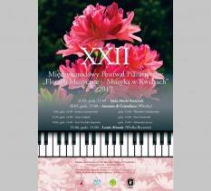"""XXII Międzynarodowy Festiwal Pianistyczny """"Floralia Muzyczne – Muzyka w Kwiatach"""" - koncert 2."""