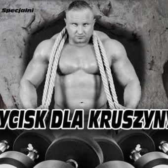"""Festiwal Sportów Siłowych """"Wycisk dla Kruszyny"""""""
