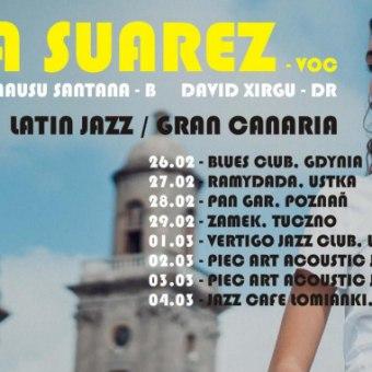 Gabriela Suárez z zespołem (Wyspy Kanaryjskie) latin vocal jazz - koncert