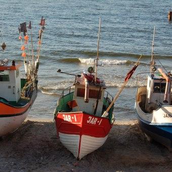 Jarosławiec i morze